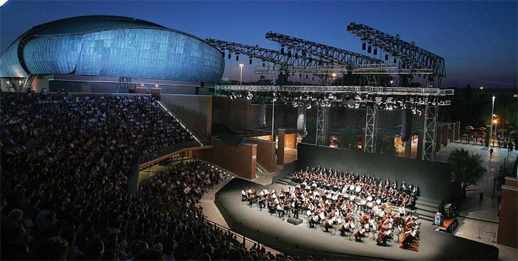 Auditorium Parco della Musica Santa Ceciia